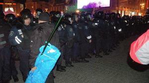 EuroMaidan Bloody Saturday Protest Riot Police