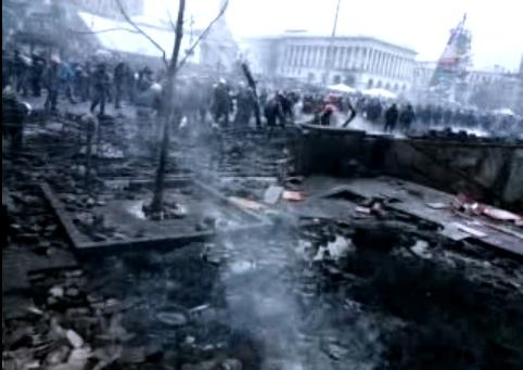 11:15, territory taken back from Berkut