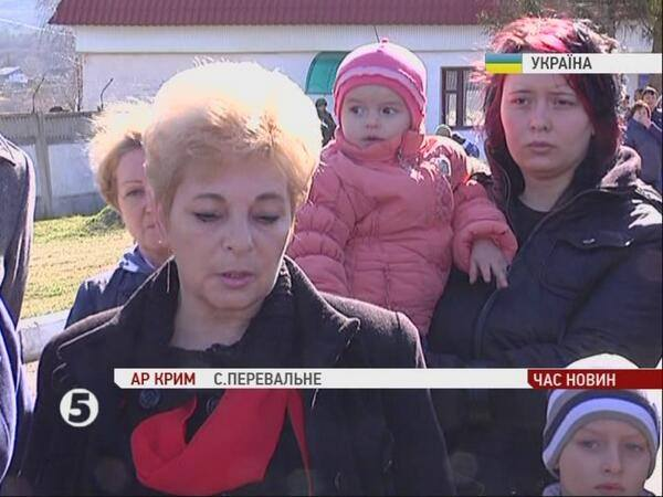 Loved ones of Ukrainian servicemen form a human shield to protect them from Putin's invaders