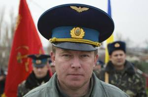 Colonel Yuliy Mamchur, one of the officers kidnapped in Crimea
