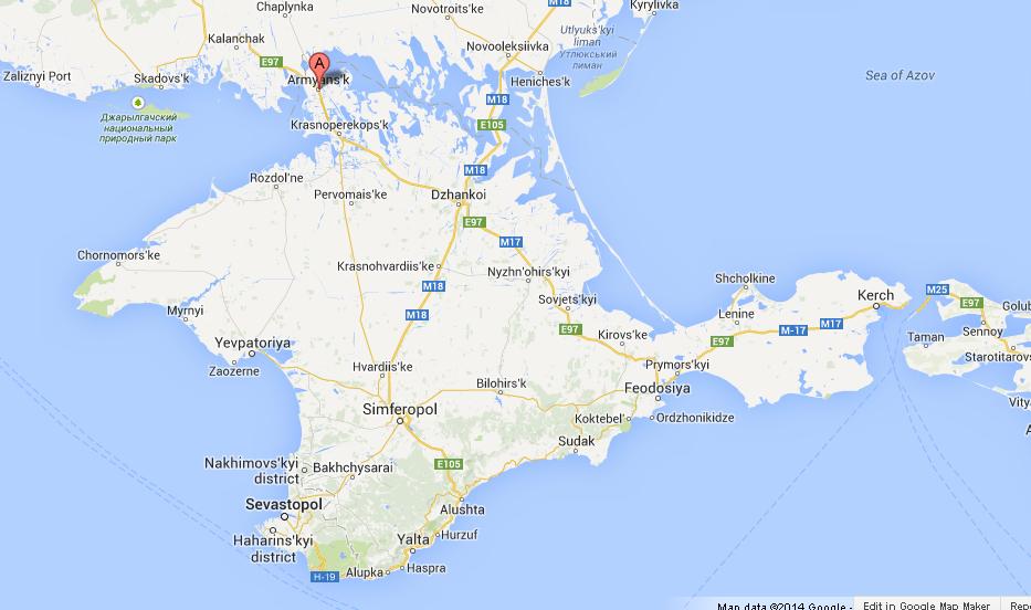 Risultati immagini per Armyansk, Crimea