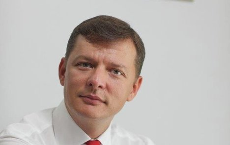 Oleh Liashko, MP and leader of the Radical Party