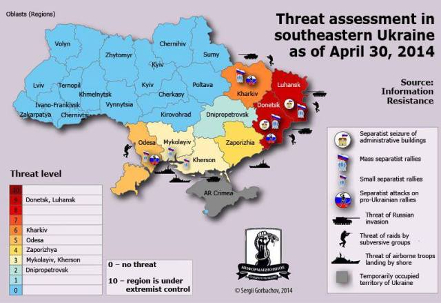 Map Research: Information Resistance (IR); Graphics: Sergii Gorbachov/IR; Translation/Russian: Voices of Ukraine