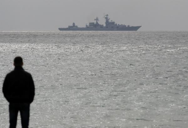 AP/Darko Vojinovic http://www.philstar.com/world/2014/03/07/1298158/us-fighter-jets-warship-arrive-ukraine-region