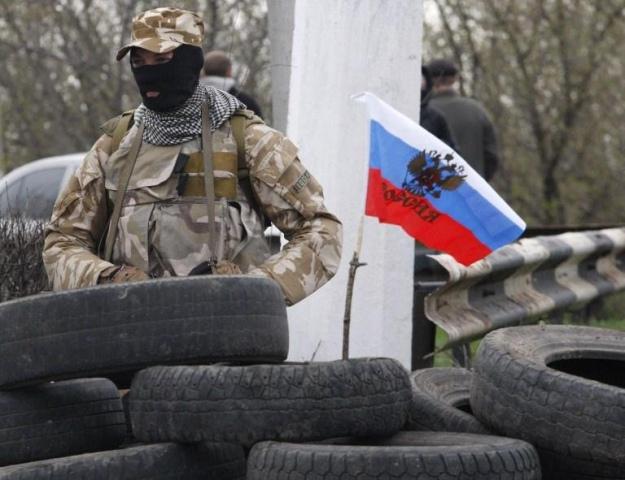 Sloviansk. Separatist. Photo uainfo.org
