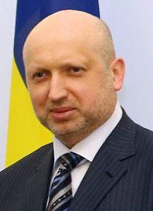 O. Turtschniow, Amtierender Präsident der Ukraine