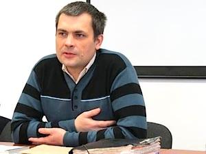 Bürgeraktivist Konstantin Lawrow, Donezk