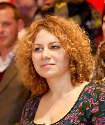 Katya Butko. Photo by uacrisis.org