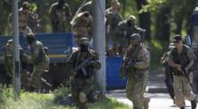 Terrorist seize airport in Donetsk