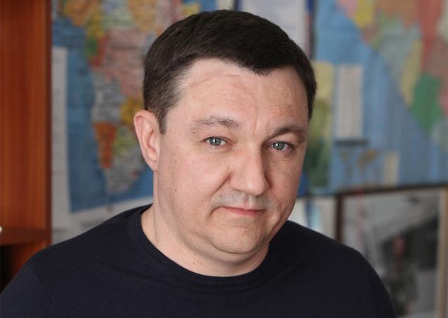 """Über die Bedeutung des Pseudoreferendums im ukrainischen Osten, mögliche Friedensmissionen und Bürgerkrieg sowie die Lage im Donbass spricht Dmytry Tymchuk, Leiter des Zentrums für militärisch-politische Studien und Koordinator der Gruppe """"Informationswiderstand"""""""