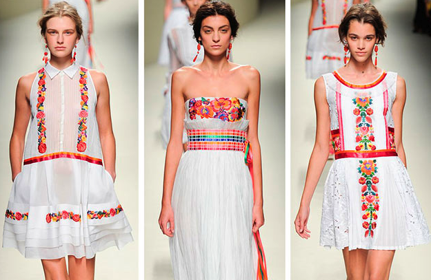 Embroidery has become a style icon