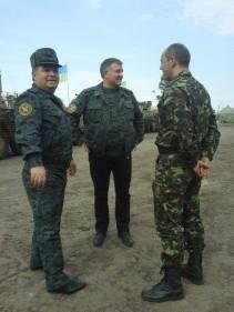 L to R: Poltorak, Avakov, Parubiy