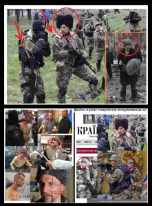 """Examples of """"identification"""" done by cunning Russian bloggers"""