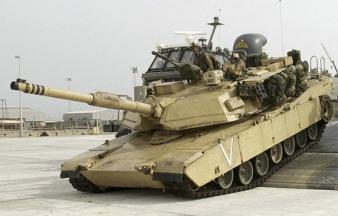 """U.S. M1 """"Abrams"""" tank"""