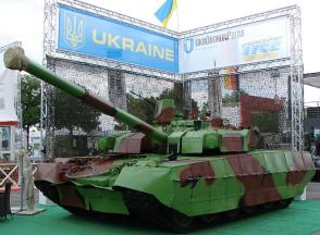 """Ukrainian T-84 """"Oplot"""" tank"""