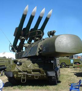 Buk anti-aircraft system (photo by Wikimedia commons)