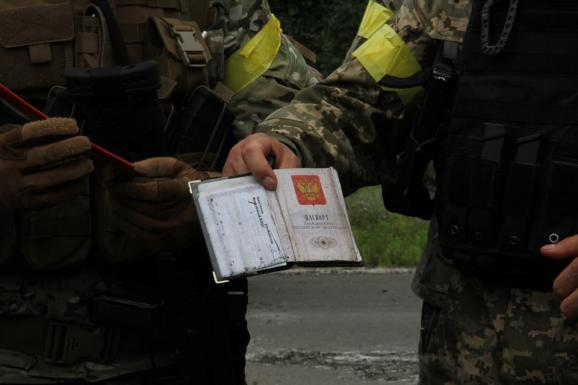 The men were carrying Russian passports