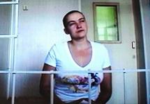 Nadja Sawtschenko in Woronesch vor Gericht (Foto: grani.ru)