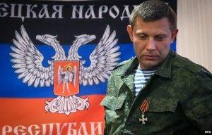 Der Rebellenführer Aleksandr Sachartschenko sagt, russische Soldaten helfen den Rebellen während ihres Urlaubs - Foto: AFP