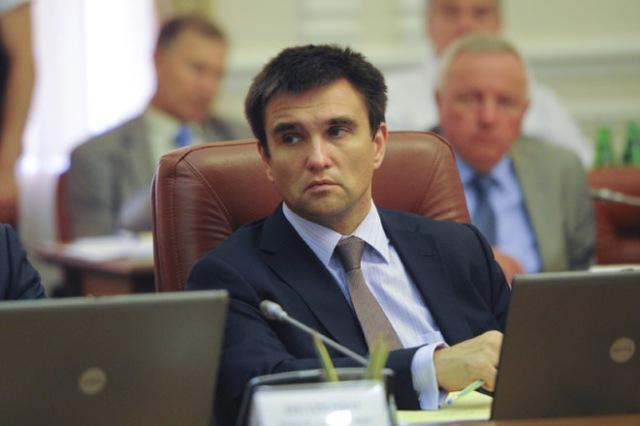 Pavlo Klimkin, Minister of Foreign Affairs of Ukraine