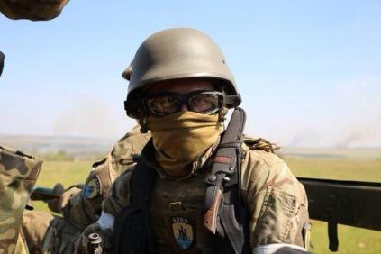 Azov Battalion in Ilovaisk