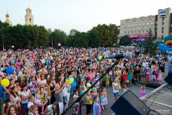 Sloviansk celebrates independence!!!!