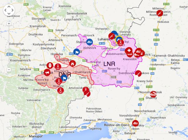 Live interactive map. Source: LiveUAMap