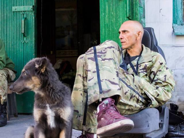 Bushuy (Rage) and his dog Bear