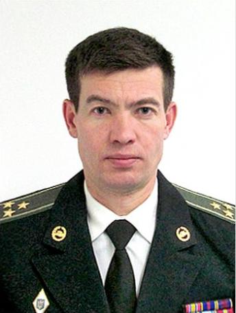 Colonel Yevhen Sydorenko