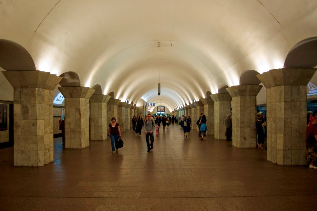 Maidan Nezalezhnosti (Independence Square) metro station, Kyiv