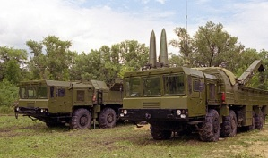 "Atomwaffenfähige Boden-Boden-Rakete ""Iskander"""