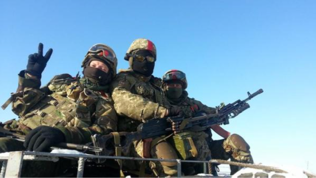 79th Airborne Brigade of Ukraine. Photo: Fekla Malahit