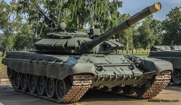 T-72B3 tank, photo courtesy of Military Today