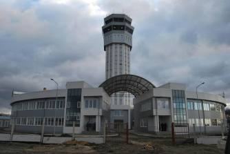 Donetsk airport terminal before