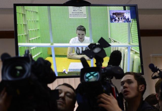 Nadezhda Savchenko. Photo: Sefa Karacan/Anadolu Agency/AFP