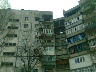 Mariupol after shelling. Source: Vasissualiy Nechiporenko FB