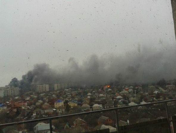 Mariupol after shelling. Source: Azov Battalion