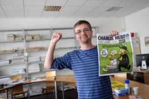 Stéphane Charbonnier, Hauptredakteur von Charlie Hebt