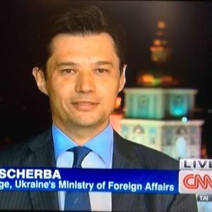Olexander Sherba, Botschafter der Ukraine in Österreich