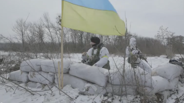 Debaltseve. Screenshot from Vice News video, Dispatch 90