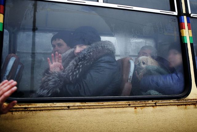 Leaving Debaltseve