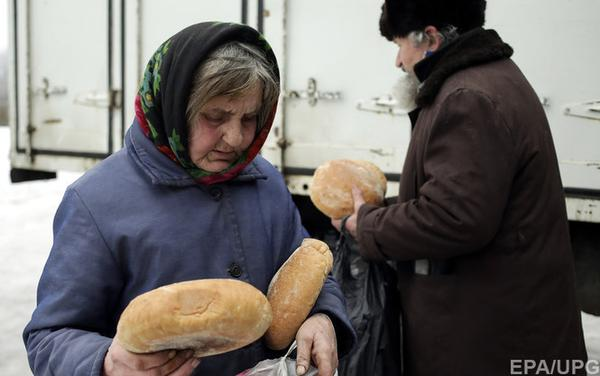 In the cities of Sverdlovsk, Snizhne, Torez, and Slovianoserbsk Pervomaisk – which are controlled by militants of terrorist organizations – there are documented cases of famine among the local population. SOURCE