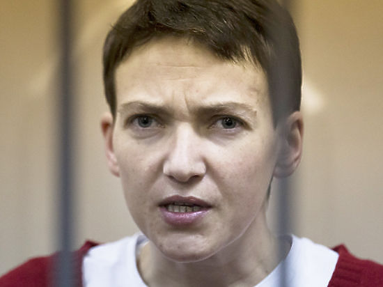 Nadiya Savchenko. Photograph by AP.