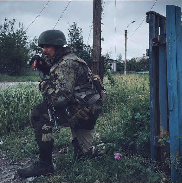 Shyrokyne. Photo: Max Avdeev. Source.