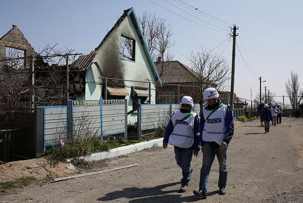 There are no civilians remaining in Shyrokyne. Source