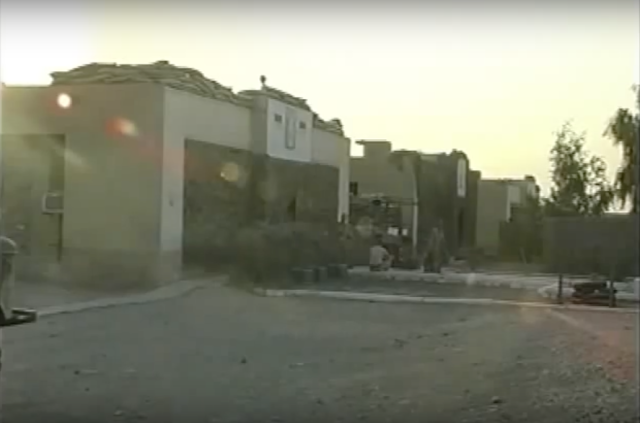"Ukrainian base in Iraq. Still from the movie ""Nadiya"""