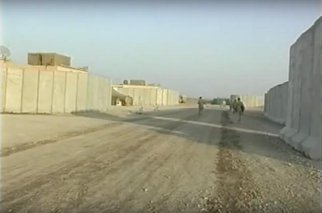 """Ukrainian base in Iraq. Still from video """"Nadiya"""""""