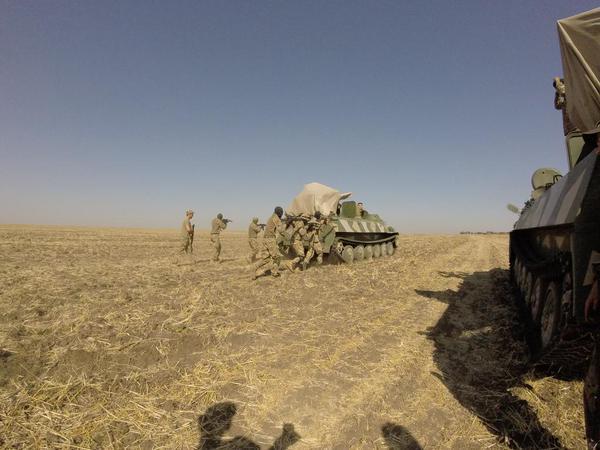 Azov Battalion drills. Source