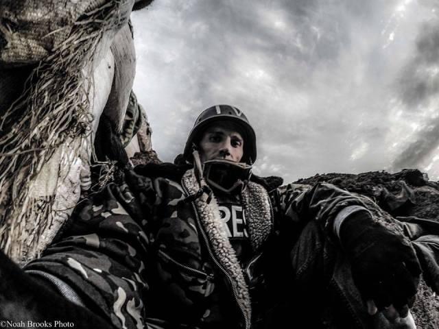 Shyrokyne, April 2015 Photo: Noah Brooks