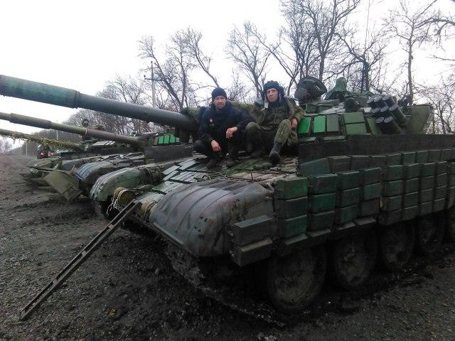 Russian tanks in Donbass in December. Source: https://twitter.com/VidaLSorokin/status/682466817588228100